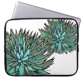 Laptop Sleeve - Spiky Green Agave