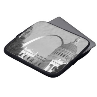 Laptop Sleeve - St. Louis Arch and Court House