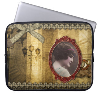 Laptop Sleeve - Steampunk Romance, by GalleryGifts