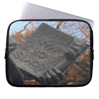 Laptop Sleeve The Rights Of Man Held By Thom Paine