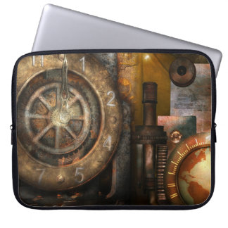 Laptop Sleeve - Universal Steam Time, by GalleryGi