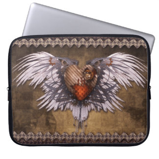 Laptop Sleeve - Wings of Steam, by GalleryGifts