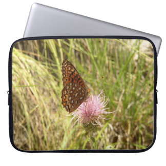 Laptop Sleeve with Butterfly