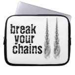 Laptop sleeve with chain