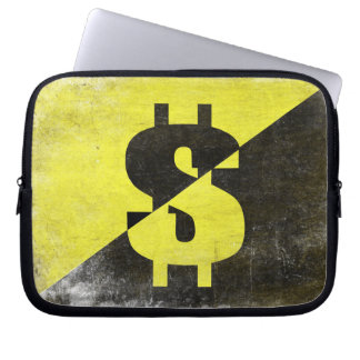 Laptop Sleeve with Cool Anarcho-Capitalist Flag