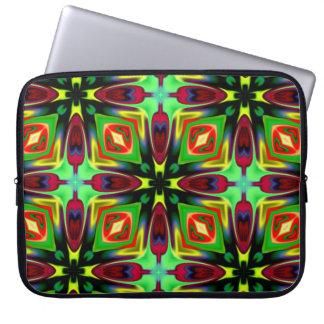 Laptop Sleeve with Kaleidoscope design
