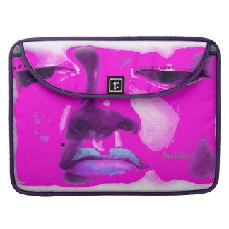 Laptop sleeve with original art buddha image.