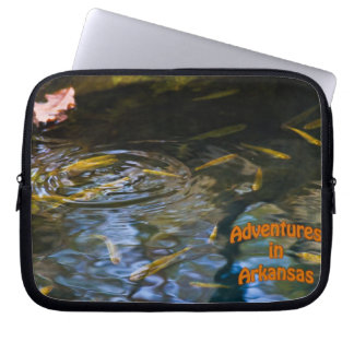 Laptop Sleeve with Winter Waters