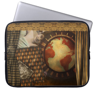 Laptop Sleeve - World of Steam, by GalleryGifts
