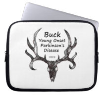 Laptop Sleeve Young Onset Parkinson's Disease