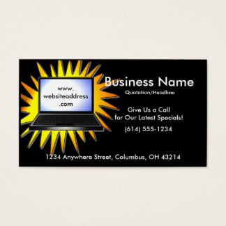 Laptop Special Business Cards