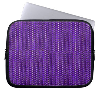LaptopSleeve Purple Glitter Computer Sleeve