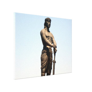 lapu torso freedom canvas print