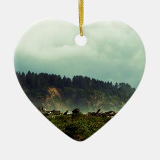 LaPush, Washington Adorno De Cerámica En Forma De Corazón