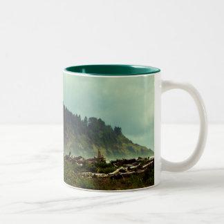 LaPush, Washington Two-Tone Coffee Mug