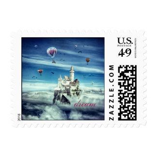Laputa - Castle in the Sky Stamp