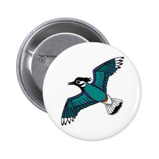 Lapwing Pin Badge