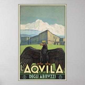 L'Aquila Degli Abruzzi Poster