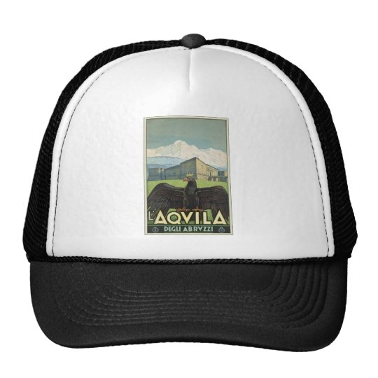 L'Aquila Degli Abruzzi Trucker Hat