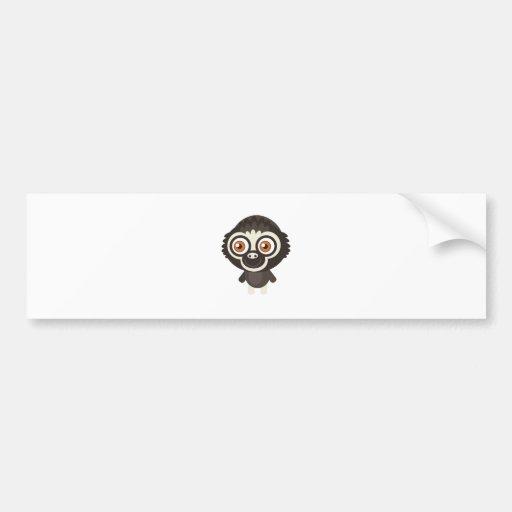 Lar Gibbon - My Conservation Park Bumper Sticker