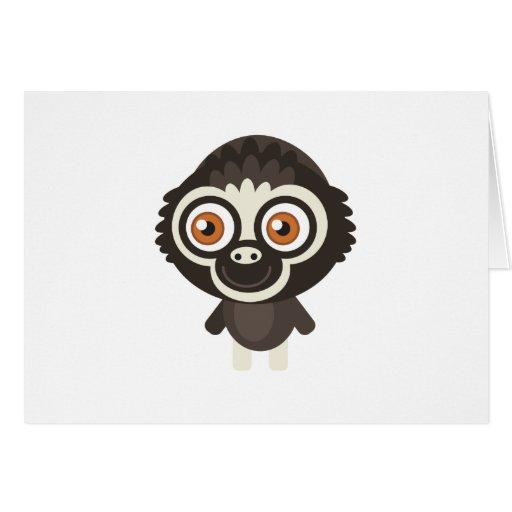 Lar Gibbon - My Conservation Park Greeting Card
