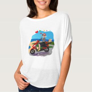 Lara and Chupka at the Seaside.. T-Shirt