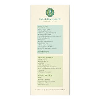 Lara Bracamonte Services Card Personalized Invitations
