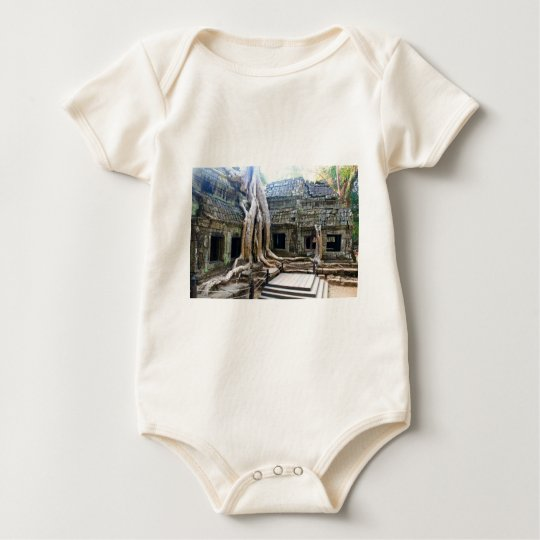 LARA CROFT LOCATION AT ANGKOR WAT BABY BODYSUIT