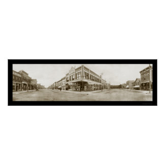 Laramie, foto 1908 de Wyoming Póster
