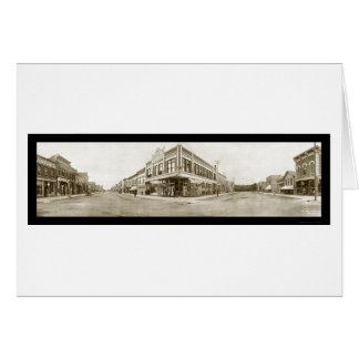 Laramie, foto 1908 de Wyoming Tarjeta De Felicitación