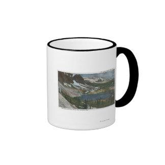 Laramie, WY - lago Marie y gama Nevado en Unio Tazas