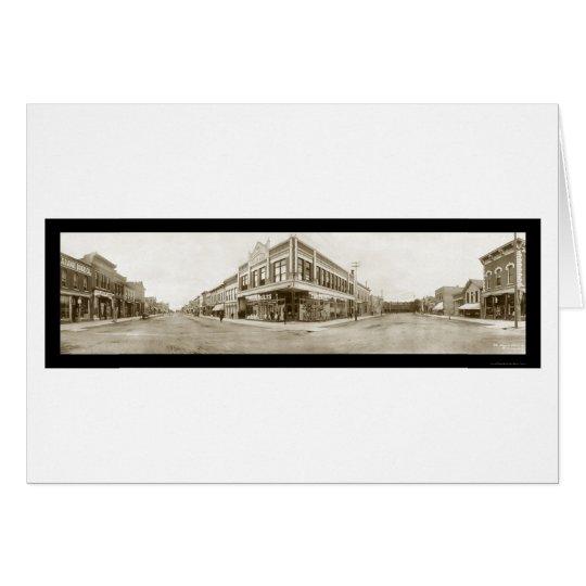 Laramie, Wyoming Photo 1908 Card