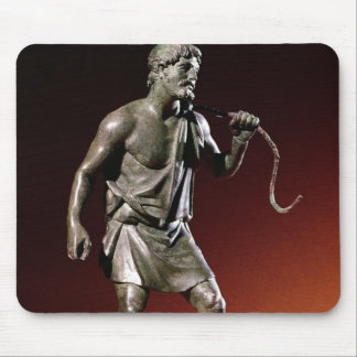 Lararium statuette of a water carrier mouse pad