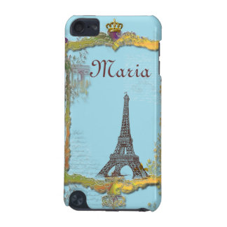 L'arc de Triomphe Gold Crown French iPod Touch (5th Generation) Cases