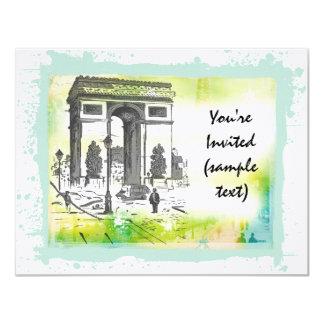 L'Arc de Triomphe Invitations