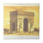 L'Arc de Triomphe, París 1840