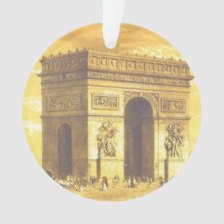 L'Arc de Triomphe, Paris 1840