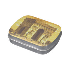 L'arc De Triomphe, Paris 1840 Candy Tins at Zazzle