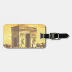 L'arc De Triomphe, Paris 1840 Luggage Tag at Zazzle
