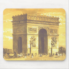 L'arc De Triomphe, Paris 1840 Mouse Pad at Zazzle