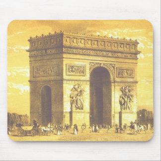 L'Arc de Triomphe, Paris 1840 Mouse Pad