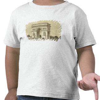 L'Arc de Triomphe, Paris, engraved by Auguste Bry T Shirt
