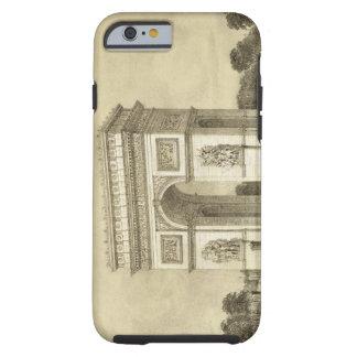 L'Arc de Triomphe, París, grabada por Auguste Bry Funda De iPhone 6 Tough
