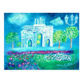 L'Arc de Triomphe Postcard