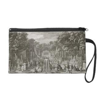 L'Arc de Triomphe, Versailles (engraving) Wristlet Purse