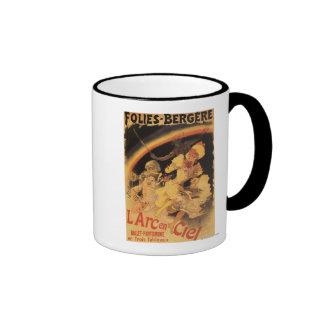 L'Arc-en-Ciel Ballet at Folies-Bergere Ringer Mug