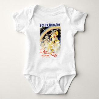 L'Arc-en-Ciel de Julio Cheret Folies-Bergere Camisas