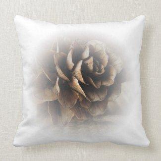 Larch Cone Throw Pillows
