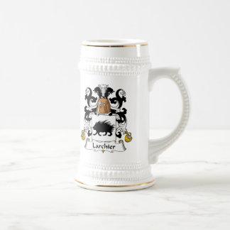 Larchier Family Crest 18 Oz Beer Stein