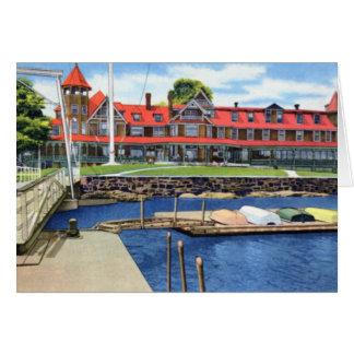 Larchmont New York Yacht Club Card